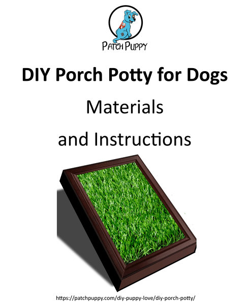 Diy Porch Potty With Drain Printable
