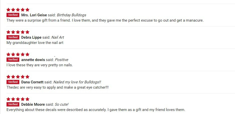 testimonials for patch puppy nail art