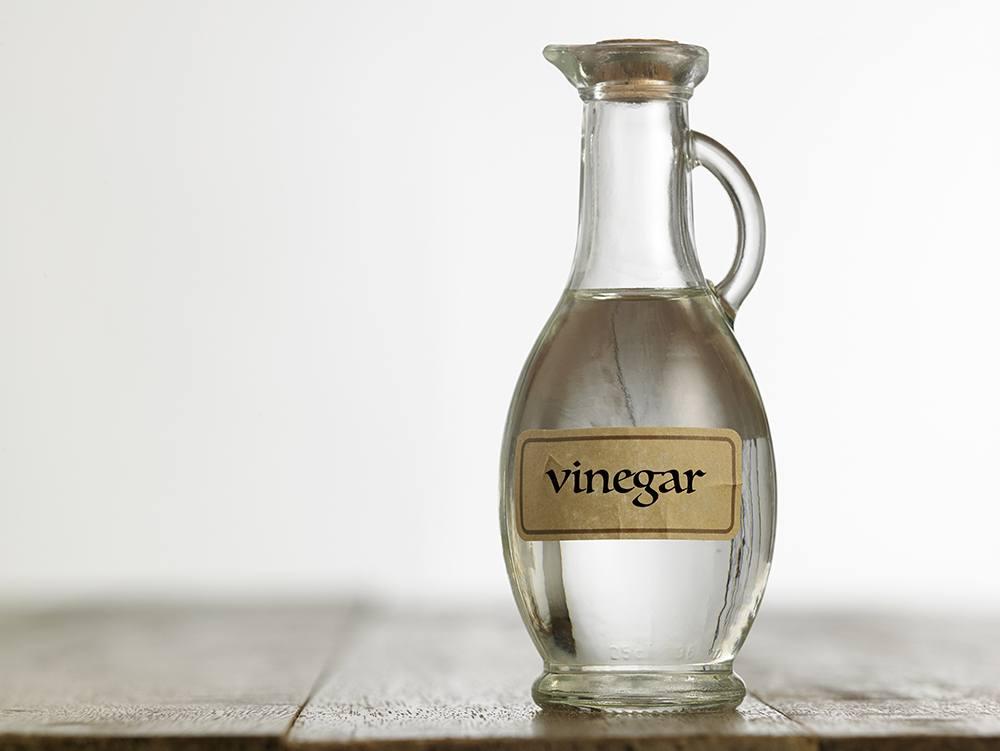 Jar of vinegar