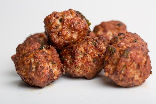 dog friendly meatballs