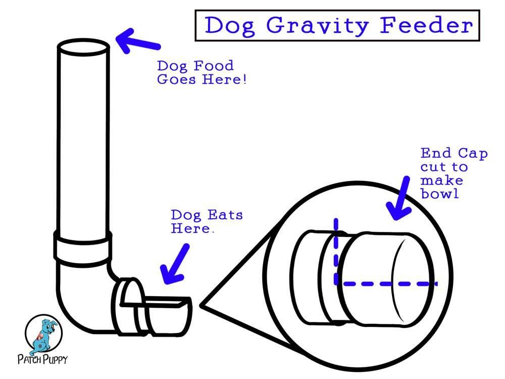 Dog Gravity Feeder Plans