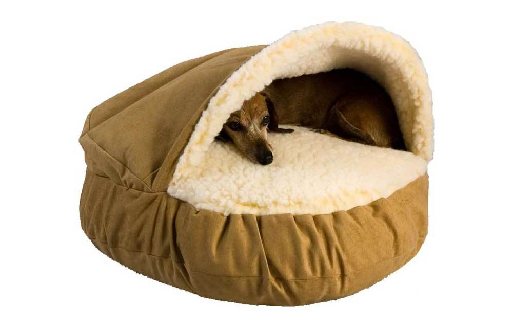 Cave Dog Bed by Snoozer