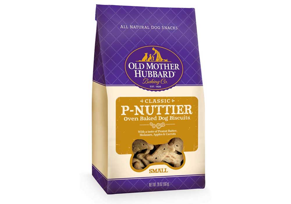 Natural Dog Biscuits by Old Mother Hubbard product packaging
