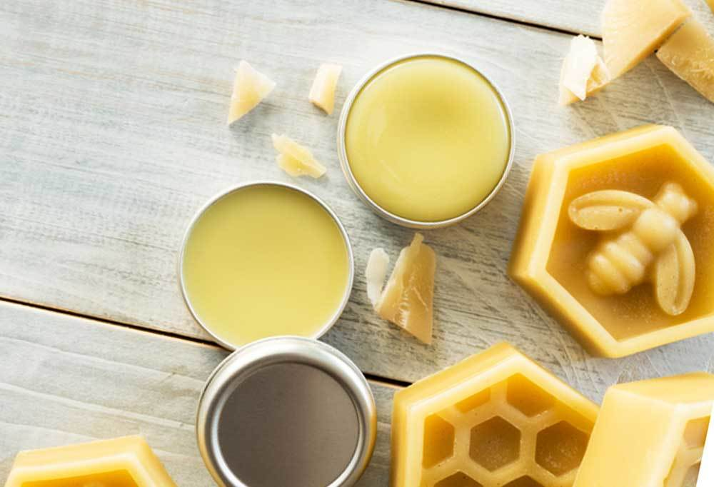 Bees Wax Balm in tins