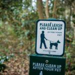 Dog clean up station